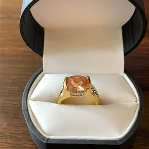 Premier Designs jewelry silver & gold ring size 7